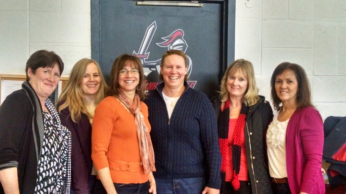 Women's Basketball Alumni, Photo courtesy of Mary Beth Henderson '84