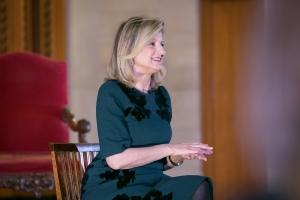 Arianna Huffington at Castle Conversations